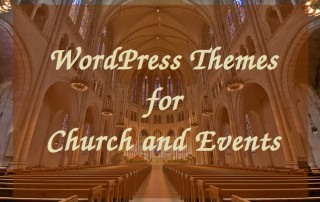 WordPress Themes for Church and Events