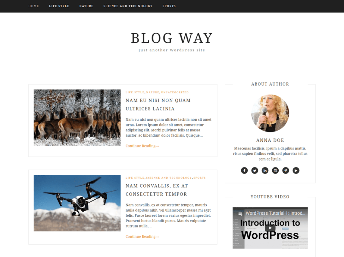 A Small Guide To Starting Your First Wordpress Blog  Best